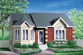 Victorian House Plan 49519 Elevation