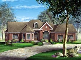 Victorian House Plan 49521 Elevation