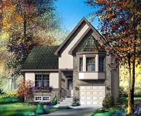 Victorian House Plan 49526 Elevation