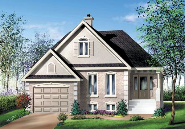 Traditional House Plan 49530 Elevation