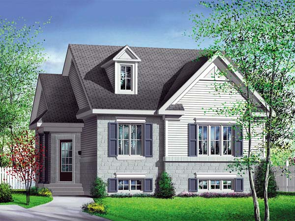 Traditional House Plan 49534 Elevation