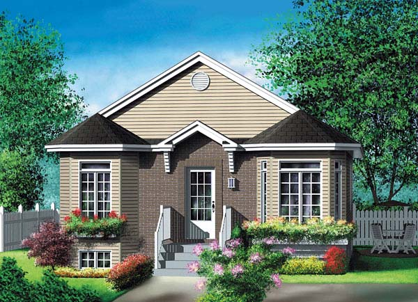 Craftsman House Plan 49538 Elevation