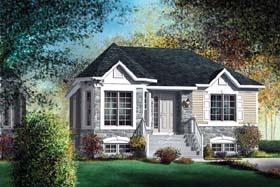 Victorian House Plan 49541 Elevation