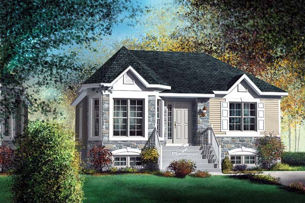 Victorian House Plan 49541 Elevation