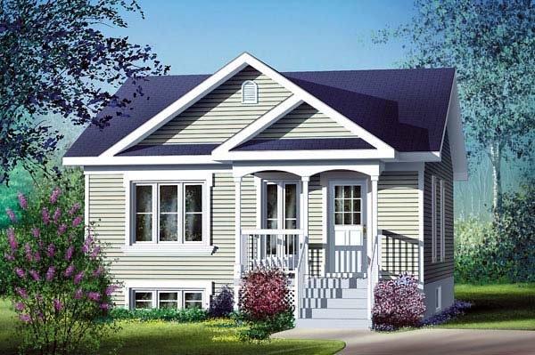 Traditional House Plan 49543 Elevation