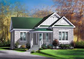 House Plan 49544 Elevation