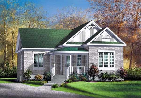 House Plan 49544 Elevation