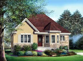 Craftsman House Plan 49558 Elevation