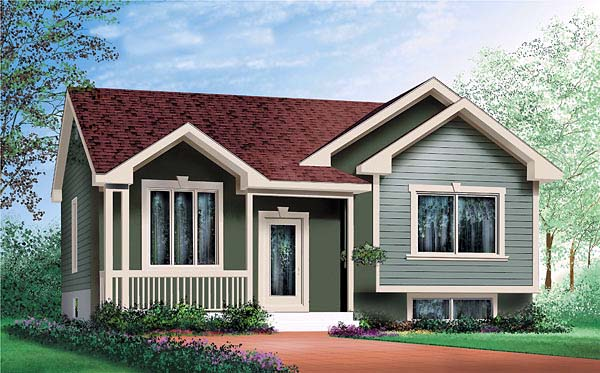 Craftsman House Plan 49562 Elevation