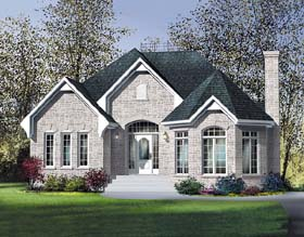 Victorian House Plan 49564 Elevation