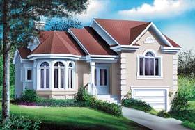 Victorian House Plan 49570 Elevation