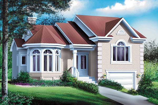 Victorian House Plan 49570 Elevation