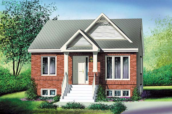 House Plan 49575 Elevation