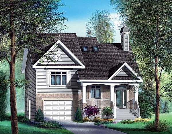 Traditional House Plan 49580 Elevation