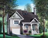 Plan Number 49580 - 1605 Square Feet