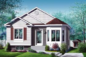 Traditional House Plan 49582 Elevation