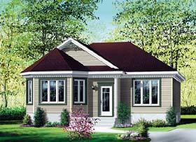 House Plan 49583 Elevation