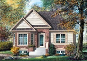 Tudor House Plan 49591 Elevation