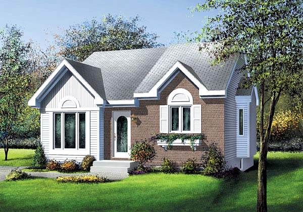 Traditional House Plan 49592 Elevation