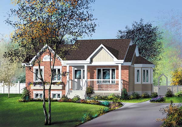 Traditional House Plan 49593 Elevation