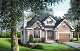 Tudor House Plan 49601 Elevation