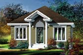 Plan Number 49604 - 780 Square Feet