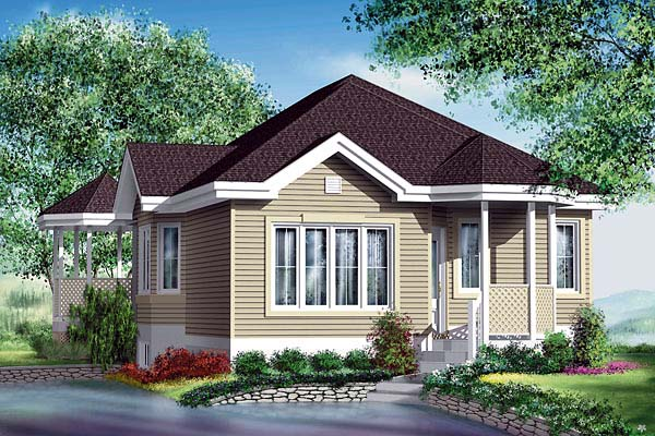 Traditional House Plan 49606 Elevation