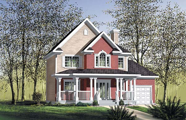 Southern House Plan 49617 Elevation