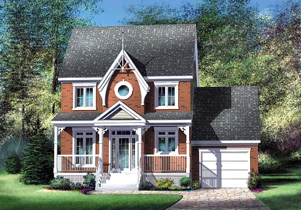 House Plan 49621 Elevation