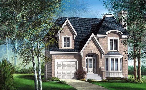 Victorian House Plan 49631 Elevation
