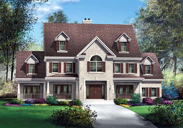 Traditional House Plan 49633 Elevation