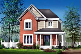Craftsman House Plan 49640 Elevation