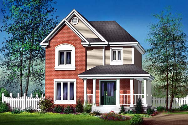 Craftsman House Plan 49640 Elevation