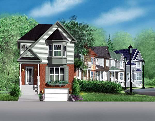 Craftsman House Plan 49651 Elevation
