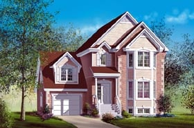 Craftsman House Plan 49652 Elevation