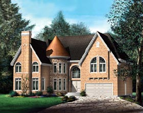 Victorian House Plan 49654 Elevation