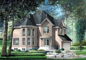 Victorian House Plan 49662 Elevation