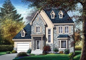Victorian House Plan 49665 Elevation