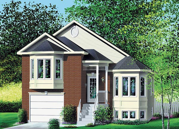 Traditional House Plan 49667 Elevation