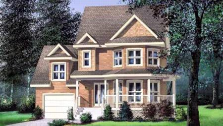 Traditional House Plan 49674 Elevation
