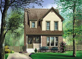 Traditional House Plan 49675 Elevation