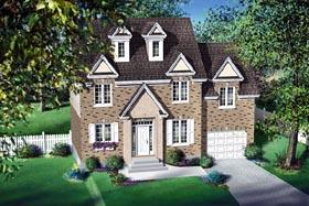 House Plan 49676 Elevation