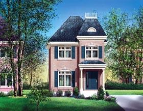House Plan 49677 Elevation
