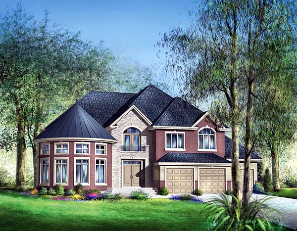 Victorian House Plan 49678 Elevation