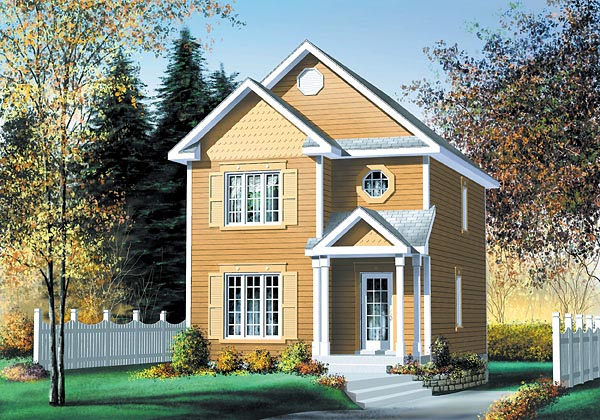 Craftsman House Plan 49681 Elevation