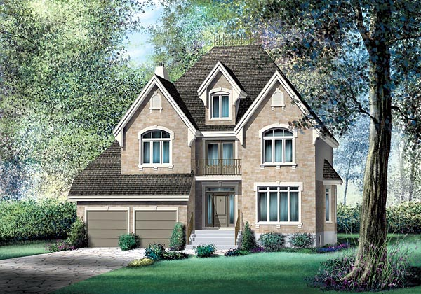 Victorian House Plan 49691 Elevation