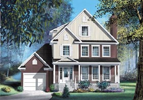 Country House Plan 49699 Elevation