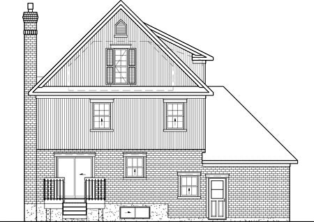 Country House Plan 49699 Rear Elevation