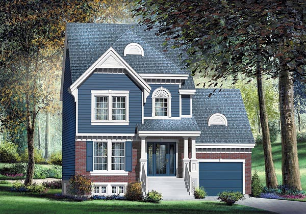 Traditional House Plan 49709 Elevation