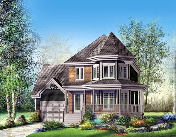 Victorian House Plan 49710 Elevation